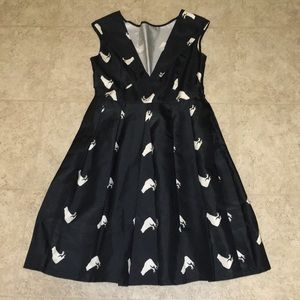 Black Frog Dress for Special Occasions